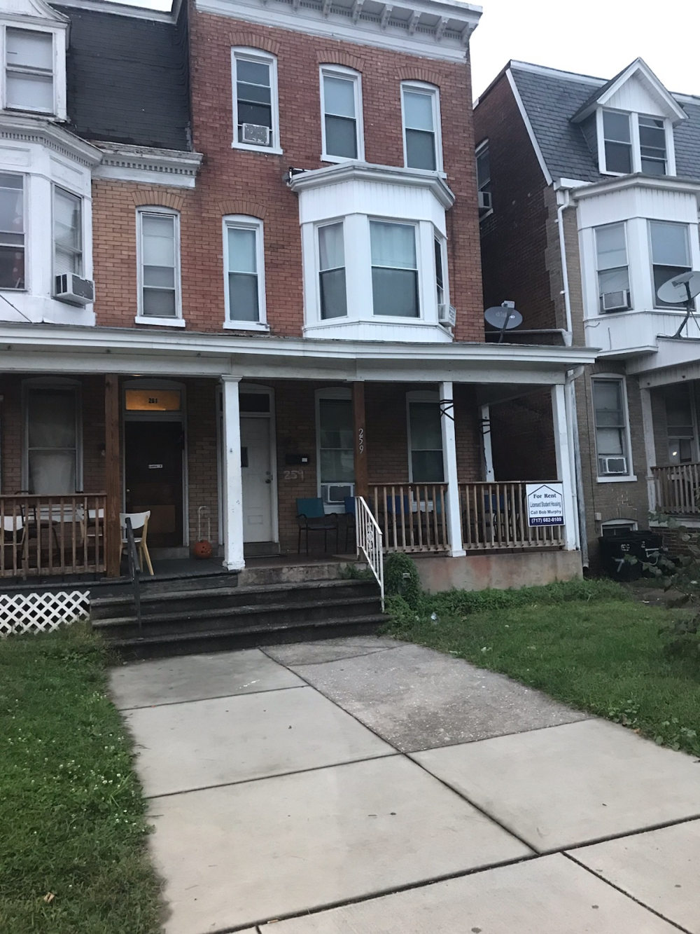 Rent a student house on West Jackson Street York PA